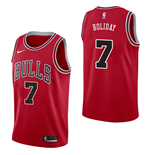 Chicago Bulls Justin Holiday T-Shirt Nike Icon Edition Replik