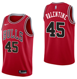 Chicago Bulls Denzel Valentine Nike Icon Edition Replik Trikot