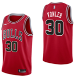 Chicago Bulls Noah Vonleh Nike Icon Edition Replik Trikot