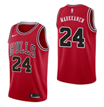 Chicago Bulls Lauri Markkanen Nike Icon Edition Replik Trikot