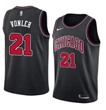 Chicago Bulls Noah Vonleh Nike Statement Edition Replik Trikot