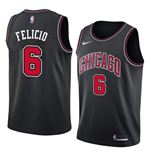 Chicago Bulls Trikot Cristiano Felicio Nike Statement Edition Replik
