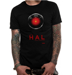 2001 Space Odyssey T-Shirt - Design: Hal 9000