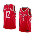 Houston Rockets Luc Mbah A Moute Nike Icon Edition Replik Trikot