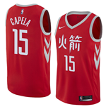 Houston Rockets Clint Capela Nike City Edition Replik Trikot