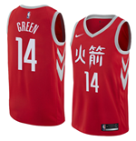 Houston Rockets Gerald Green Nike City Edition Replik Trikot