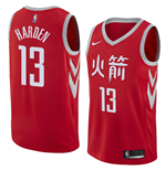Houston Rockets James Harden Nike City Edition Replik Trikot