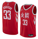 Houston Rockets Ryan Anderson Nike City Edition Replik Trikot