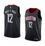 Houston Rockets Luc Mbah A Moute Nike Statement Edition Replik Trikot