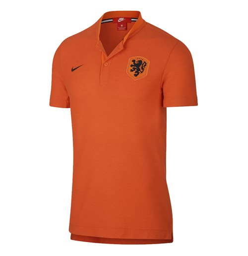 Polohemd Holland Fussball 2018-2019 (Orange)