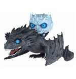 Game of Thrones POP! Rides Vinyl Figur Night King & Viserion 15 cm