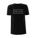 T-Shirt Nine Inch Nails  Gildan 64000 Classic Grey Logo