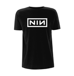 Nine Inch Nails T-Shirt CLASSIC WHITE LOGO