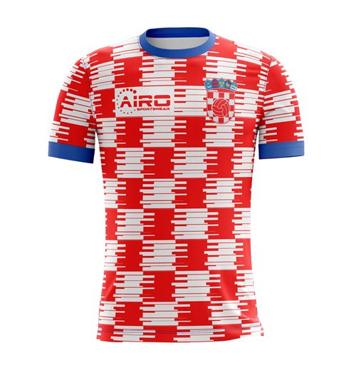 T-Shirt Kroatien Fussball 2018-2019 Home