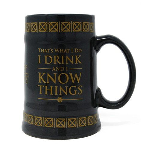 Game of Thrones Bierkrug Drink & Know Things