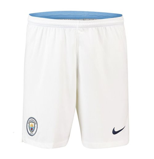 Shorts Manchester City FC 2018-2019 Home (Weiss)