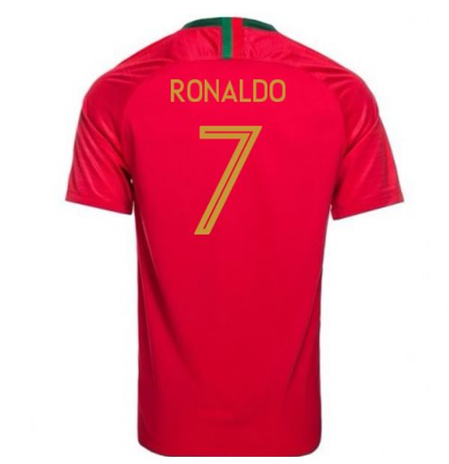 2018/2019 Trikot Portugal Fussball 2018-2019 Home  (Ronaldo 7)