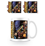 Avengers Infinity War Tasse Space Montage