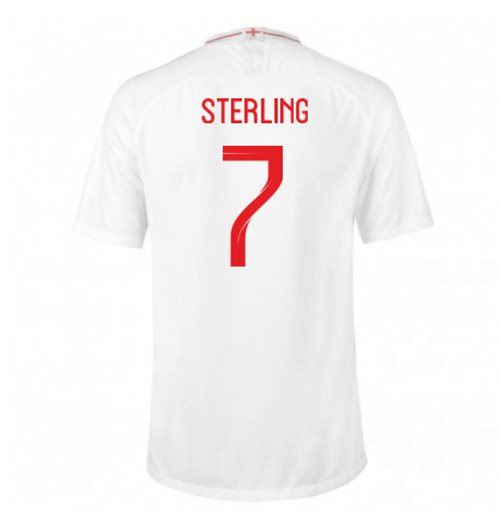 2018/2019 Trikot England Fussball 2018-2019 Home (Sterling 7)