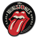 Aufnäher The Rolling Stones  50th Anniversary