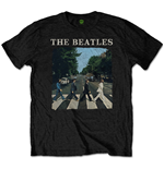 T-Shirt The Beatles:  Abbey Road & Logo (Retail Pack) für Männer