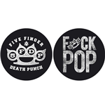 Five Finger Death Punch  Slipmat - Design: Knuckle/Fuck Pop