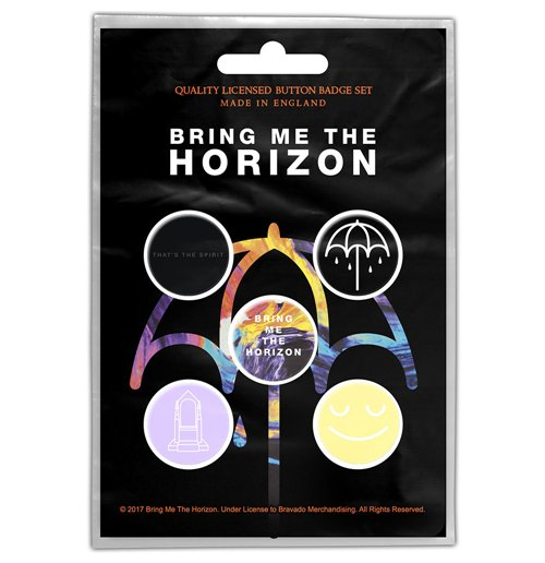 Bring Me The Horizon  Brosche - Design: That's the Spirit