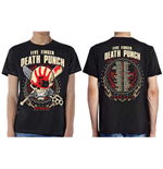 Five Finger Death Punch  T-Shirt für Männer - Design: Zombie Kill Fall 2017 Tour