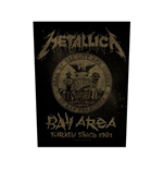 Metallica Aufnäher - Design: Bay Area Thrash