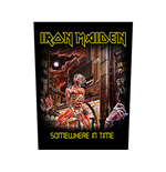 Aufnäher Iron Maiden Back Patch: Somewhere In Time