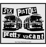 Sex Pistols Aufnäher - Design: Pretty Vacant