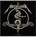 Metallica Aufnäher - Design: Death Magnetic Arrow
