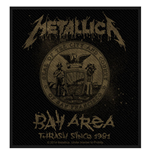 Metallica Aufnäher - Design: Bay Area Thrash (Loose)