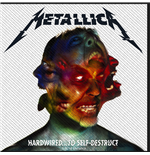 Metallica Aufnäher - Design: Hardwired to Self Destruct