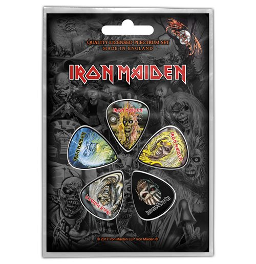 Iron Maiden Plektrum - Design: The Faces of Eddie