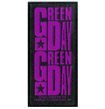 Green Day Aufnäher - Design: Purple Logo