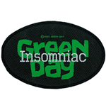 Green Day Aufnäher - Design: Insomniac