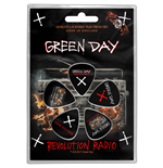 Green Day Plektrum - Design: Revolution Radio