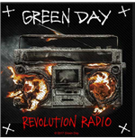 Green Day Aufnäher - Design: Revolution Radio