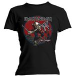 Iron Maiden T-Shirt für Frauen - Design: Trooper Red Sky