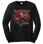 Iron Maiden Sweatshirt für Männer - Design: Trooper Red Sky