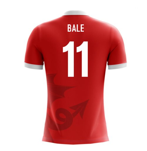 T-Shirt Wales Fußball 2018-2019 Home