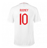 2018/2019 Trikot England Fussball 2018-2019 Home (Rooney 10) für Kinder