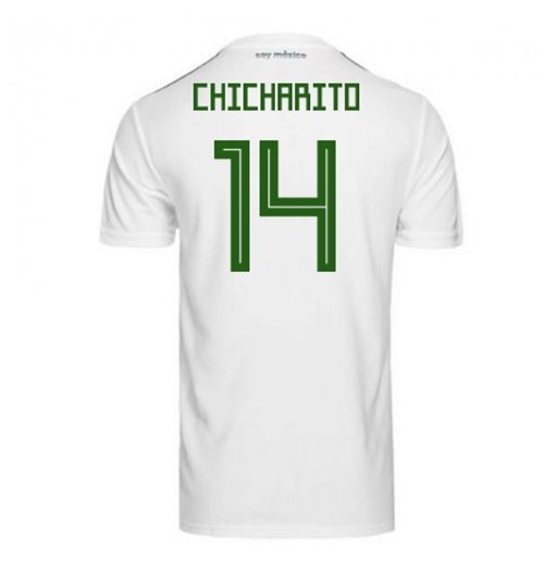 2018/2019 Trikot Mexiko Fussball 2018-2019 Away  (Chicharito 14) für Kinder