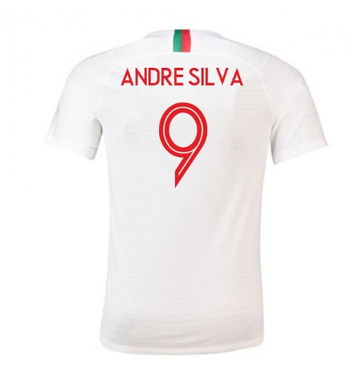 2018/2019 Trikot Portugal Fussball 2018-2019 Away (Andre Silva 9)
