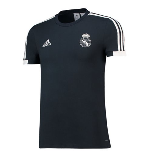 T-Shirt Real Madrid 2018-2019 (Dunkelgrau)