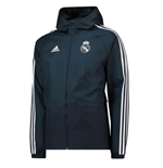 Jacke Real Madrid 2018-2019 (Dunkelgrau)