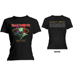 T-Shirt Iron Maiden Ladies:  Legacy of the Beast Tour (Back Print)