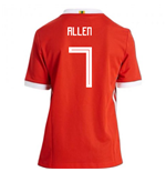 2018/2019 Trikot Wales Fußball 2018-2019 Home