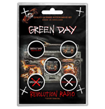 Green Day Brosche - Design: Revolution Radio